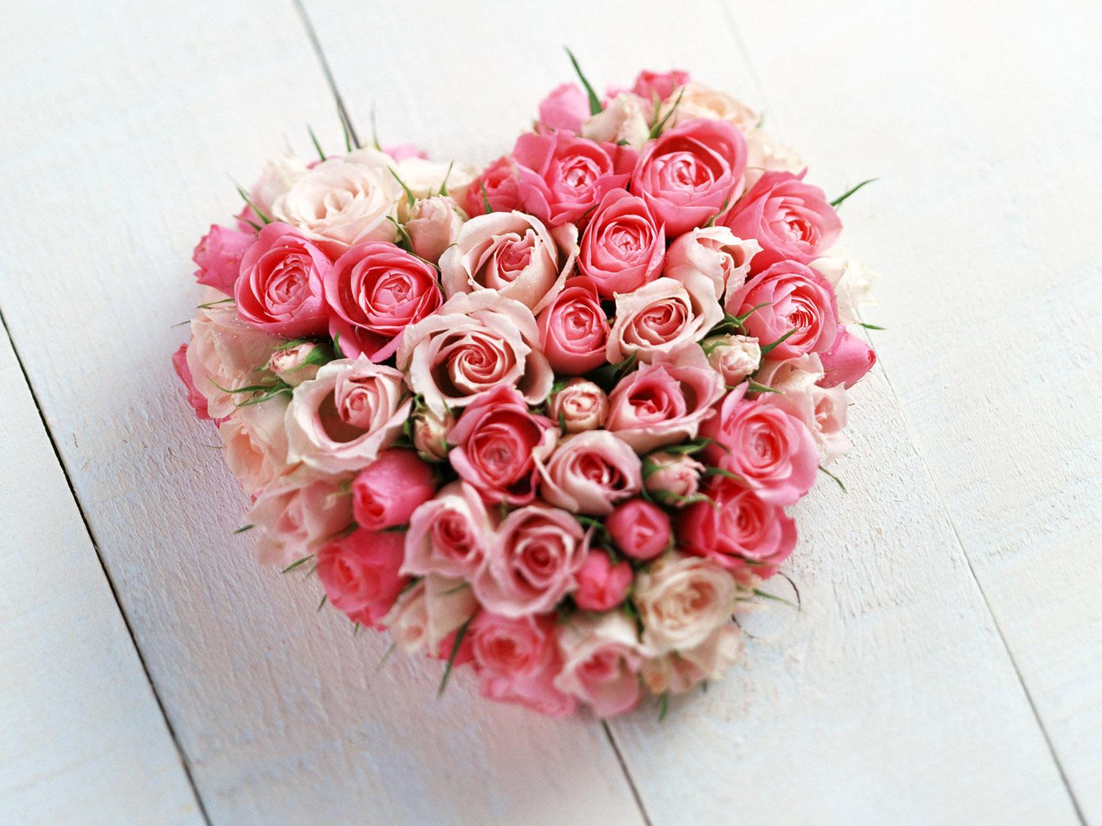 Růžové-srdce
